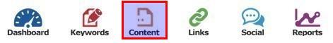 SEO Gear Content Toolbar