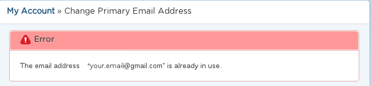 paypal how to change primary email