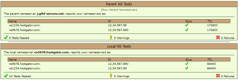 LeafDNS - Local NS Tests