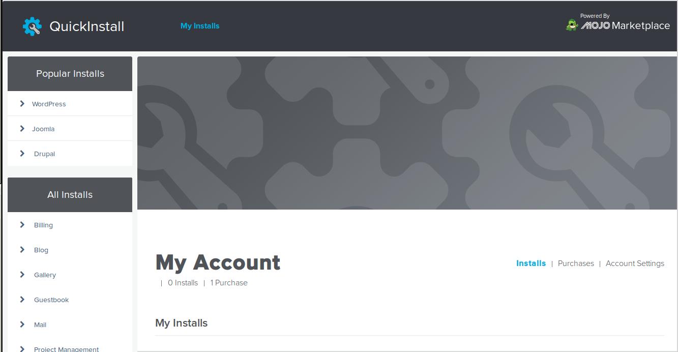 QuickInstall « HostGator.com Support Portal
