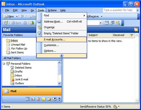 Outlook Express Tutorial 1