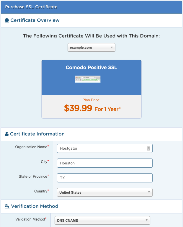 Billing Portal Ssl Certificates Hostgator Support Portal
