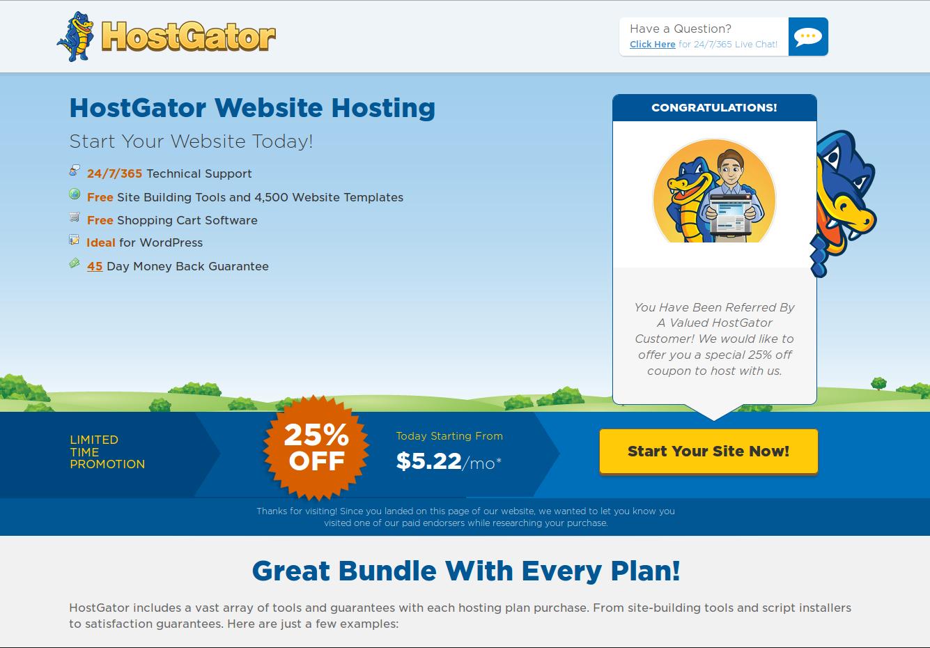 Customer Referral Program « HostGator.com Support Portal