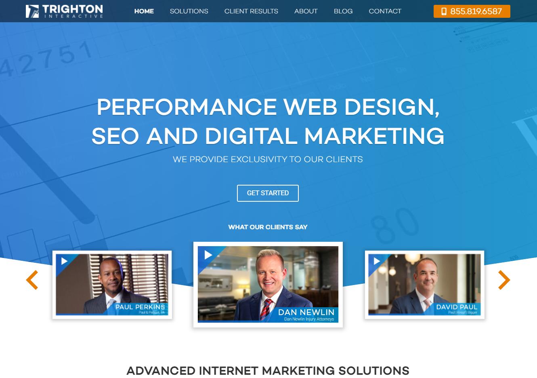 Trighton Interactive Website