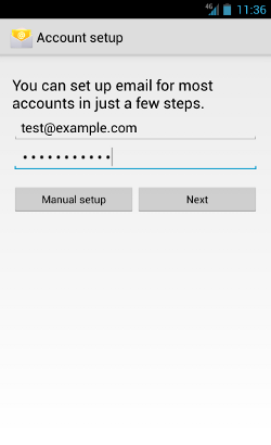 Setting Up Email for Android Phones | HostGator Support
