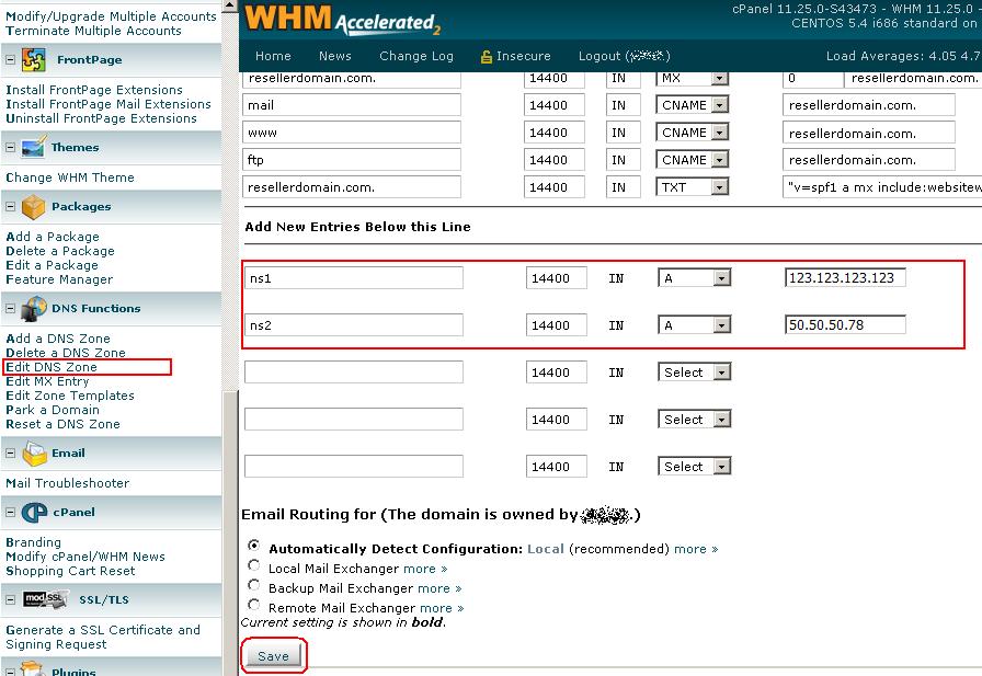 Important DNS Update « HostGator com Support Portal