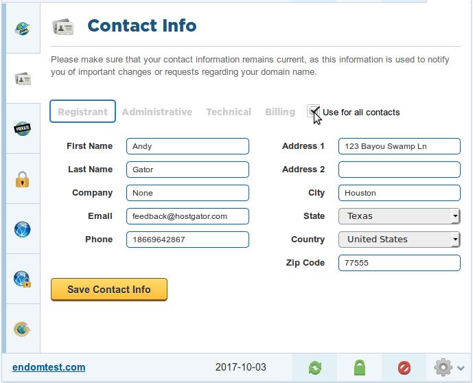 address editing software