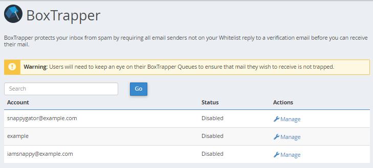 BoxTrapper « HostGator com Support Portal