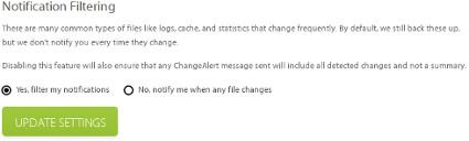 Notification Filter