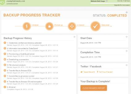 Backup Tracker