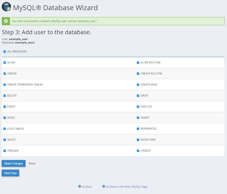 MySQL Step 3