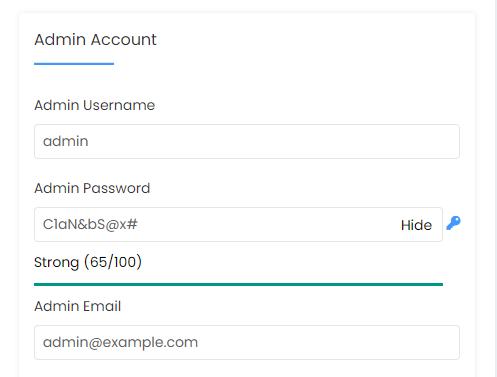 HostGator cPanel Softaculous WordPress Admin Account