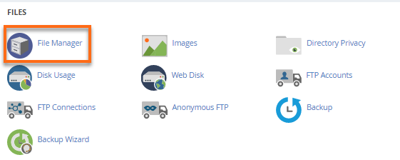cPanel v2 File Manager