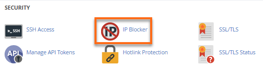 HostGator cPanel IP Blocker