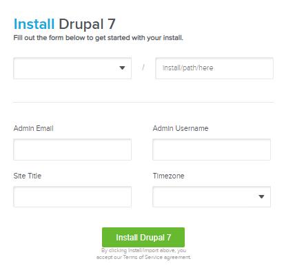 Drupal Installations Details