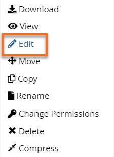 Edit File Box