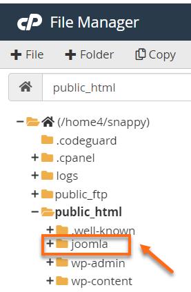 Joomla Installation Folder
