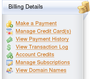 Log into gbclient.hostgator.com . From the left menu, under Billing ...