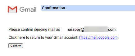 Gmail - Confirmed