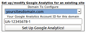 Configure Google Analytics for Your Domain Name