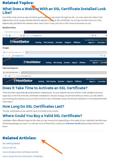 HostGator- Search Portal - Helpful Resources