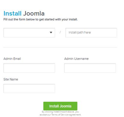 Joomla Installations Details
