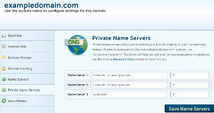 Private Name servers