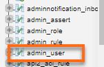 Magento Admin User