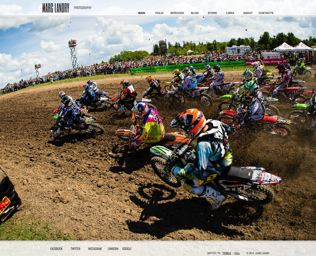 Marc Landry Photography Website
