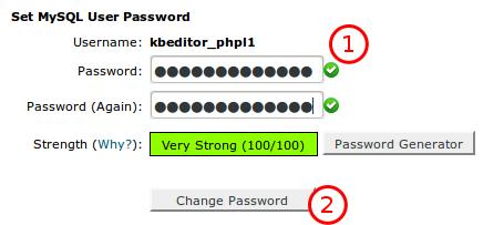Lost Database Password « HostGator com Support Portal