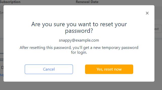 Confirm Office 365 User Password Reset