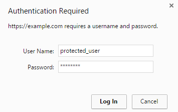 Protected Directory