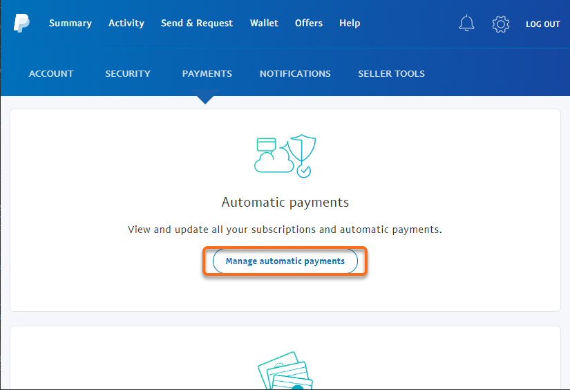 HostGator Unsubscribe from PayPal - Manage Automatic Payments