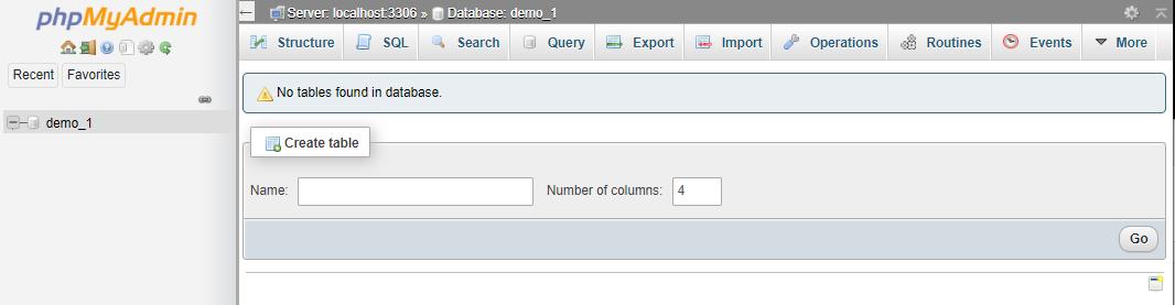 Plesk - phpMyAdmin's Available Databases