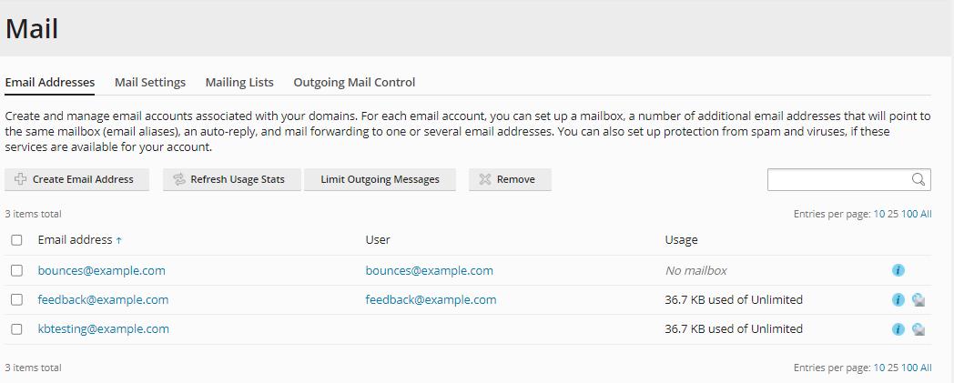HostGator - Plesk Email Address to Manage