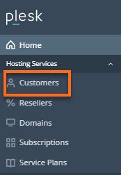 HostGator Plesk Customers Tab