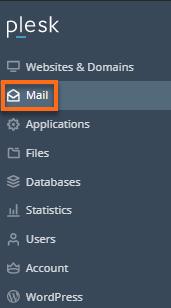 Mail tab
