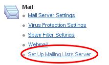 Mailing Lists Server