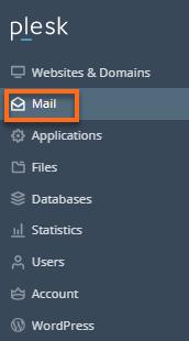 Plesk - Mail