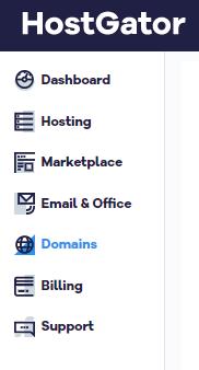 Customer Portal - Domains