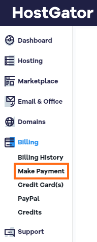 Customer Portal - Make a Payment