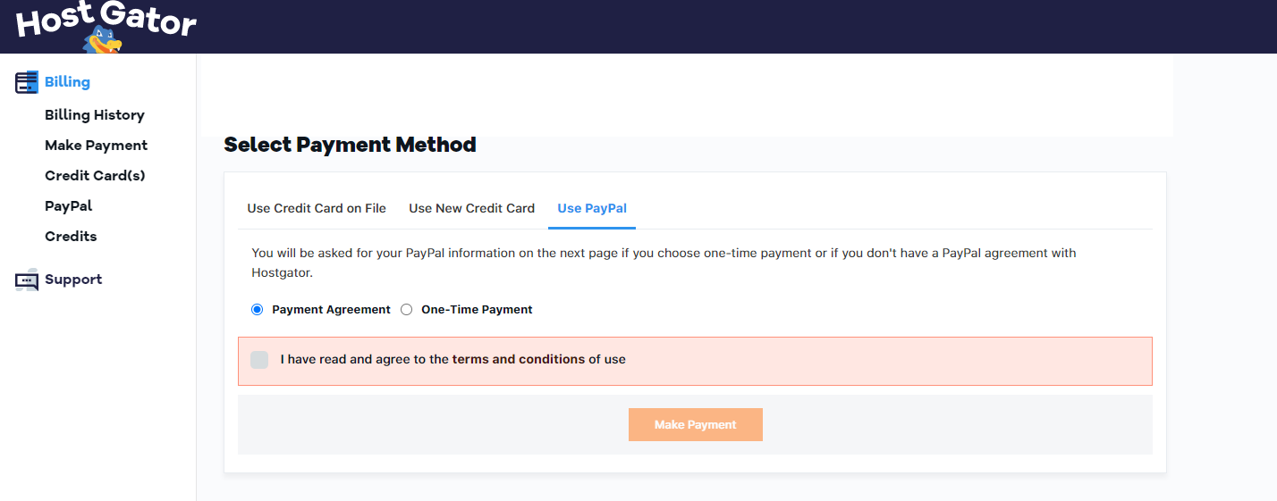 Use PayPal