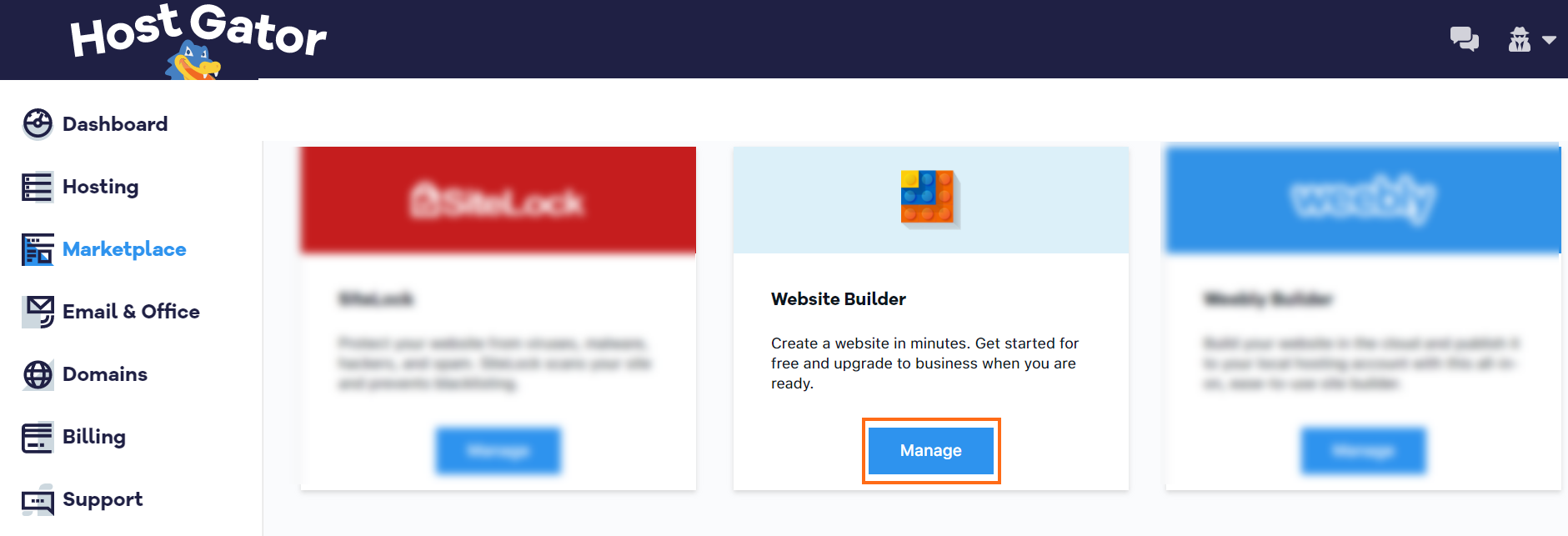 Website Builder - Desktop Editing   HostGator Support