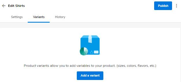 Hostgator website builder product variants