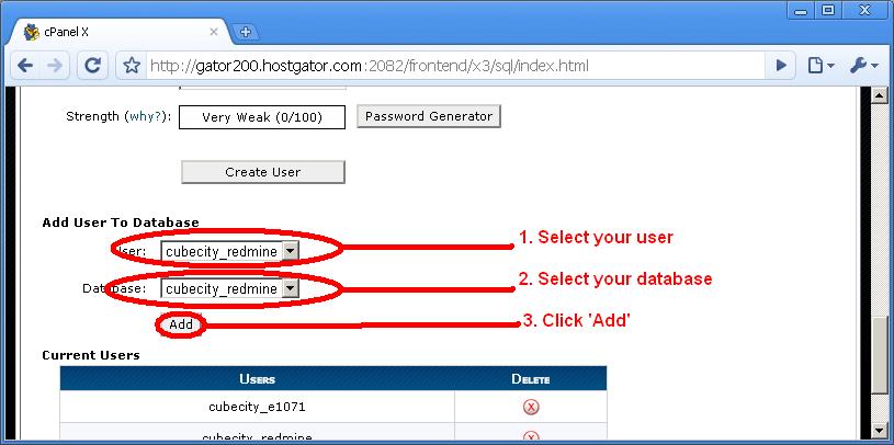 Adding User to Database