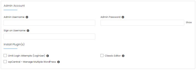 Sign-On Username