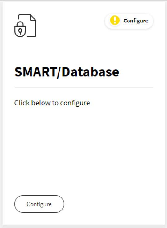 SiteLock - SMART/Database tile