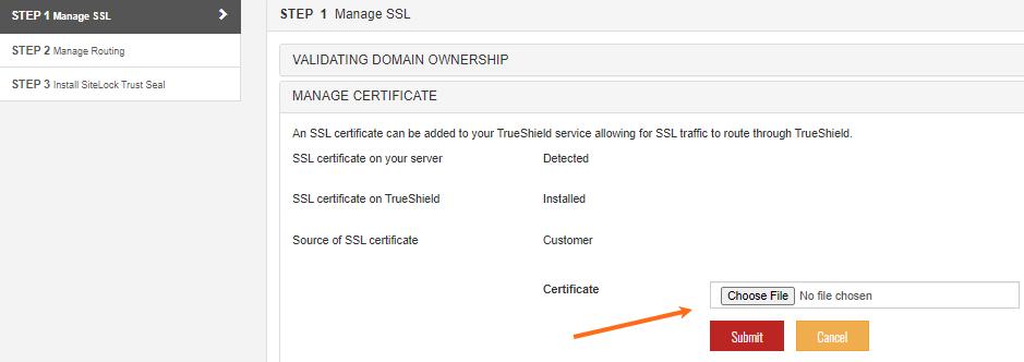 Certificate File