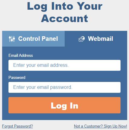 Webmail Login Page