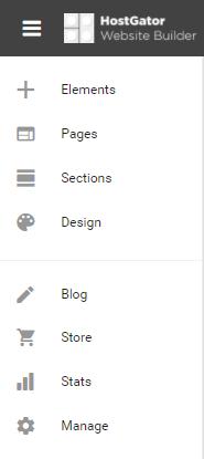 Website Builder Edit Page